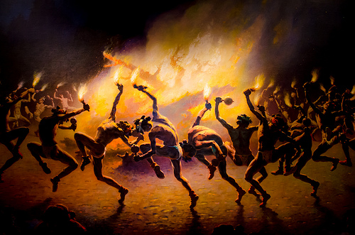 Fire Dance by William Robinson Leigh