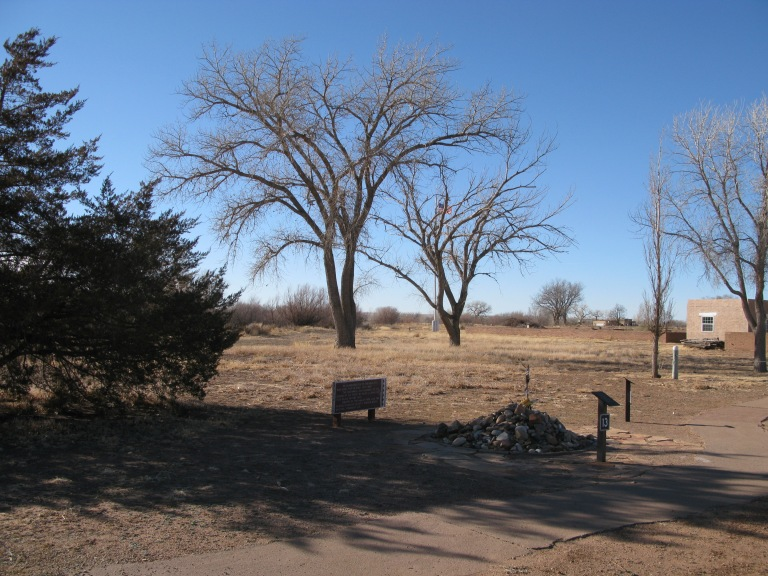 Fort Sumner 1868 Treaty signing site by Gary Fillmore