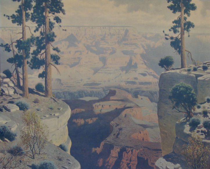 James Swinnerton  Grand Canyon 28x33 unframed