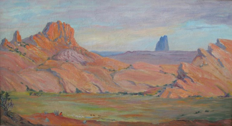 Monument Valley South side Lillian Wilhelm Smith