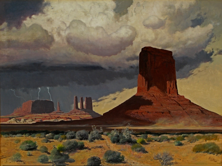 Monument Valley Thunderhead James Swinnerton