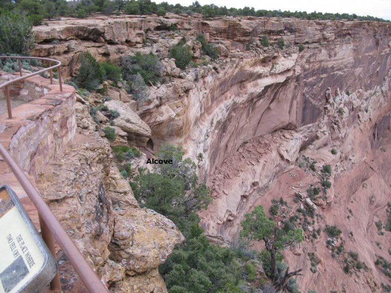 Canyon de Chelly The Place Where Two Fell Off photo by Gary Fillmore
