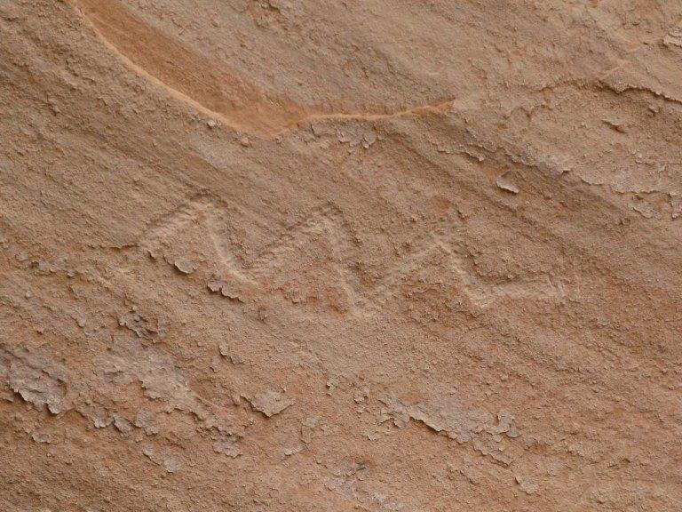 27snake petroglyph Keet Seel by Gary Fillmore