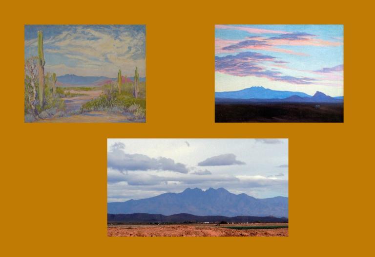 Four Peaks by Jessie Benton Evans and Marjorie Thomas