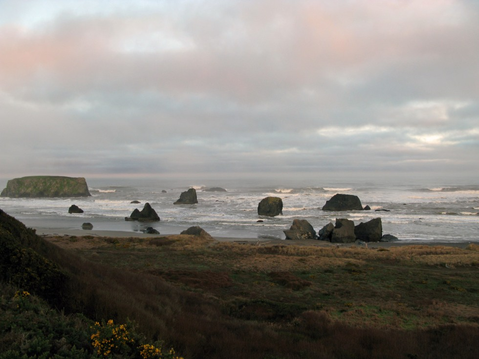 Bandon Oregon Shoreline by Gary Fillmore 2