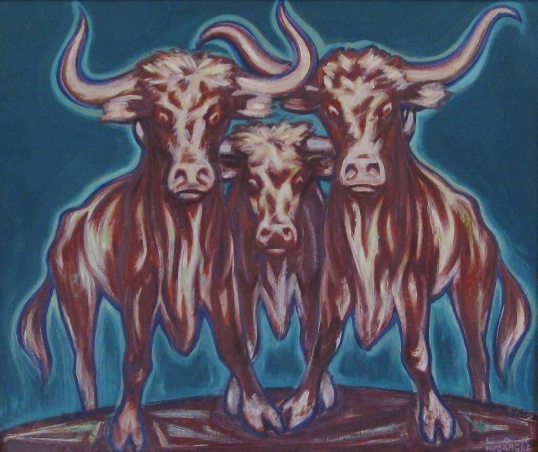 Lon Megargee Longhorns
