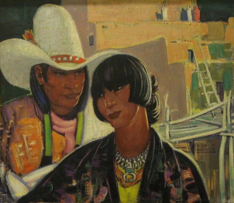 Lon Megargee Navajo courtship