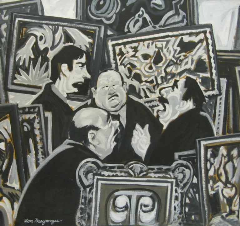 The Art Critics by Lon Megargee