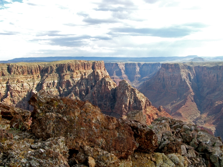 4 Little Colorado River Gorge Looking South by Gary Fillmore