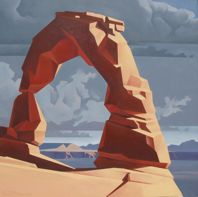 Ed Mell Delicate Arch 48x48 OC
