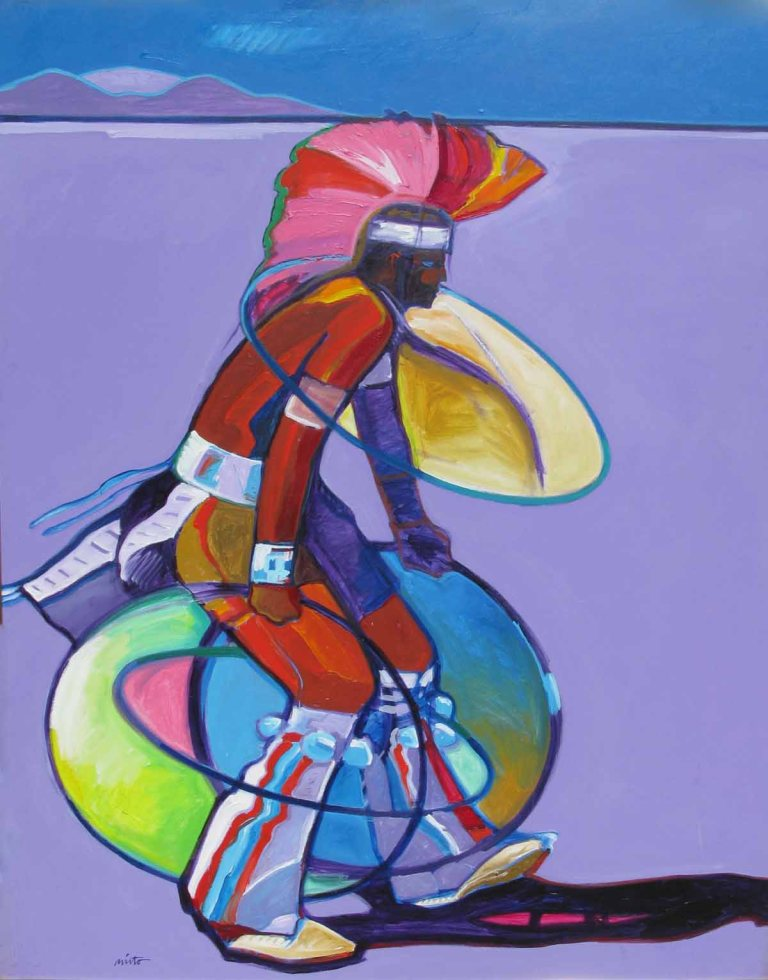 John Nieto Hoop Dancer 60x48