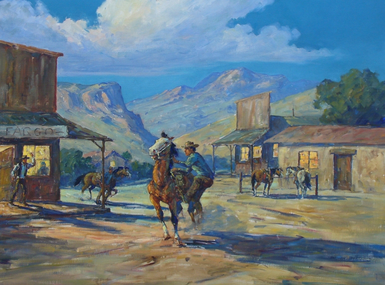 Marjorie Reed The Pony Express