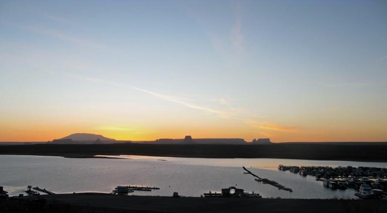 Lake Powell Sunrise by Gary Fillmore