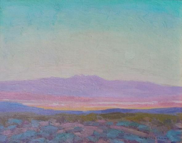 Marjorie Thomas Four peaks 8 x 10 oc