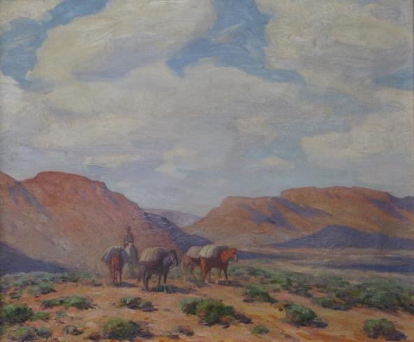 Arizona Pack Horses Marjorie Thomas