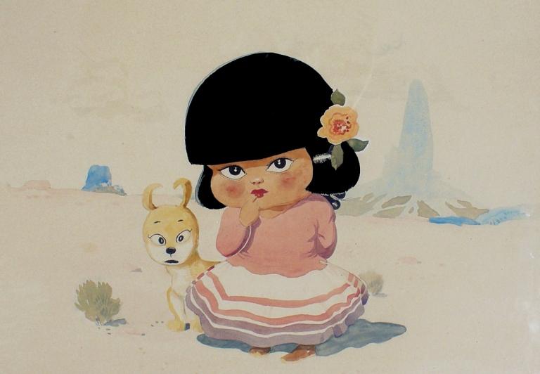 ck-canyon-kiddie-girl-and-dog