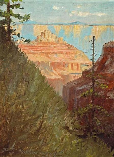 Frederick Dellenbaugh grand canyon 16x12 OC