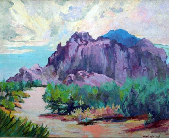 Jessie Benton Evans Camelback 20 x 24 OC